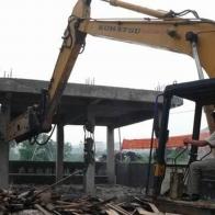 开发区废旧厂房拆除回收